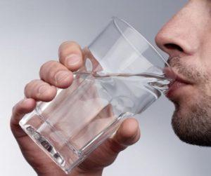 Важно пить много воды