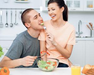 Правильное питание для хорошей спермограммы
